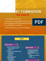 memory formation dot point 1