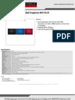 Dell Inspiron N4110-i3