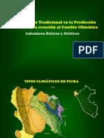 Conocimiento tradicional en la predicción climática. Indicadores bióticos y abióticos