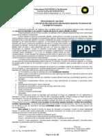 Procedura Elaborare Lucrare de Disertatie 10 Octombrie 2012