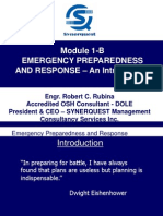 Module 1-B Emergency Preparedness