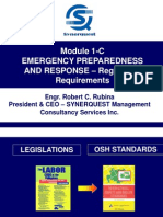 Module 1-C Emergency Preparedness