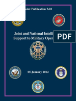 Joint Publication 2-01, Joint and National Intelligence Support to Military Operations, 2012, uploaded by Richard J. Campbell