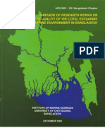 A Review of Research Works on Water Quality of the Lotic, Estuarine and Marine Environment in Bangladesh (2002)