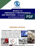 Module 2-A Emergency Preparedness