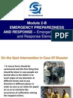 Module 2-B Emergency Preparedness