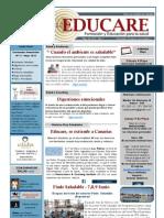 Newsletter Educare Nº 11 Mayo 2013