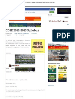 CDSE 2012-2013 Syllabus ~ SSB Interview Tips & Coaching _ SSBCrack