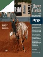 Interview of NRHA 4 million dollar rider Shawn Flarida