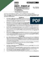 Unit Test Abcd Maths Ut 2