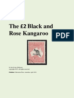 The Two Pound Black and Rose Kangaroo