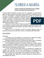 MES DE  MAYO DEDICADO A MARÍA EN COMPAÑÍA DE M. CARMEN
