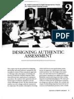 Designing Authentic Assessment