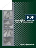 NORMATIVA PROCESAL PENAL DOMINICANA