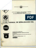 Manual de Senalizacion Vial 1983
