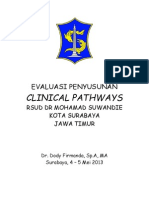 Dody Firmanda 2013 - Evaluasi Penyusunan PPK dan Clinical Pathways RSUD Suwandhie Surabaya 4-5 Mei 2013
