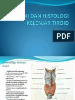 Anatomi Dan Histologi Kelenjar Tiroid