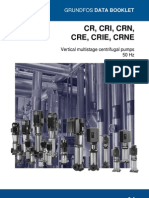 Grundfos CR1 Pump User Manual