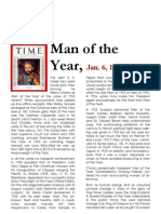 Man of the Year Emperor Haile Selassie