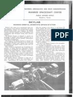 NASA Facts Skylab Manned Orbital Scientific Space Station