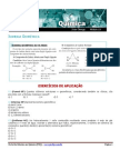 exercícios de quimica