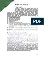 Resume Dan Soal Pim 3