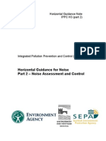 IPPC_H3_part_2_Horizontal Guidance Note - Noise Assessment & Control (2002)