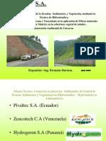 Presentacion Control de Erosion Hidrosiembra Warco 2008
