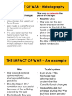 The Impact of War