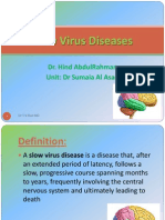 Slow Virus Diseases
