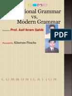Traditional vs Modern Grammar