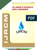 Ijrcm 1 Vol 4 Issue 1 Art 25