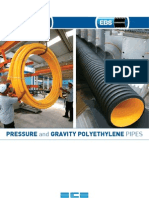 EBS Pressure and Gravity Polyethylene Pipes - Turkey