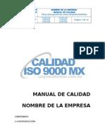 Manual Iso 9000