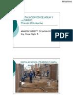 Tema 9. Instalaciones de Agua y Desague