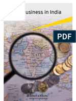 Doing Business in India E&Y 2012-13