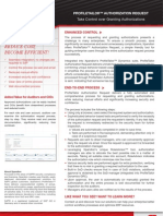 authorization request brochure