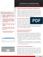authorization review brochure
