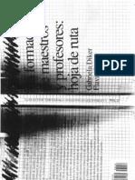 Rol Docente La Formacion de Maestros y Profesores Hoja de Ruta Diker Terigi