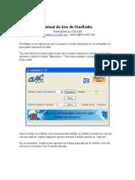 Manual Uso ClacRadio
