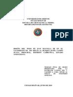 DISEÑO DEL POZO HI 25-10 MACOLLA HI EN EL