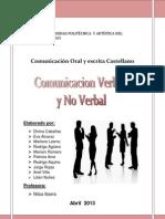Comunicacion Verbal y No Verbal