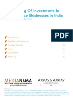Structuring Investments in Ecommerce in India Medianama Arkay and Arkay