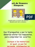 Homero Simpson TEST