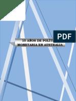 Trabajo Final - Politica Monetaria de Australia