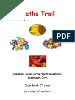maths trail tp3