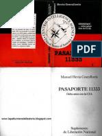 Hevia Cosculluela - Pasaporte 11333