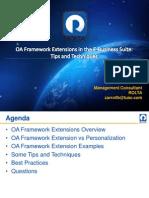 BCarroll - OA Framework Extensions