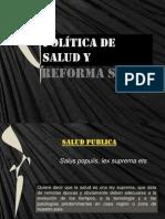 Pol+¡tica de salud y Reforma Social