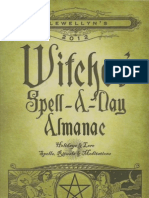 Llewellns 2012 Witches Spell a Day Almanac